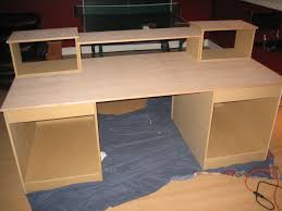 Diy Student Desk by Diy Studio Recording Desk Recording Studio Ideas Pinterest