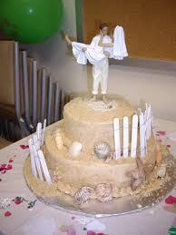 wedding cakes easy beach themed wedding cake the pretty nice