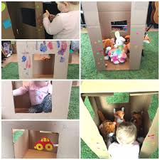 11 make a cardboard house boxes are very valuable when you have