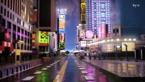 Times Square Map Times Square Minecraft Remake Is Complete With Billboards And