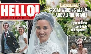 hello wedding dress pippa middleton and matthews special wedding album and