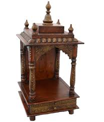 pooja mandapam designs wooden temple pooja mandir copper painted that you are looking