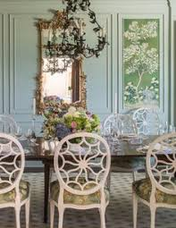 Chinoiserie Dining Room by Ashley Whittaker A Lovely Dining Room With De Gournay Chinoiserie