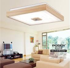 home lighting design 2015 2015 new square design simple modern wood led ceiling lights for