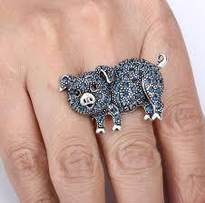 golden dolphin ring holder images 80 best piggy jewelry ring ring holder images jpg