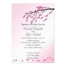 Cherry Blossom Wedding Invitations Cherry Blossom Wedding Invitations On Etsy 6 00 Wedding Bells