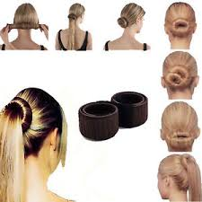 Chignon Maker 1x Daily Women Easy To Use Bun Hair Band Hair Twist Styling