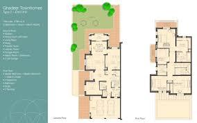dubai villa floor plans images houseplans pinterest dubai
