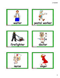 english for kids esl kids flashcards jobs and places flashcards