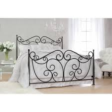 Where To Buy Metal Bed Frame by Scroll Decorative Metal Bed Frame In Dark Bronze Powder Coated