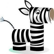 zebra tissue paper pin by hollis on ideas zebra craft toilet