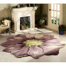 Flower Area Rug Area Rugs Petals Of The Lilo Flower Area Rugs With Their