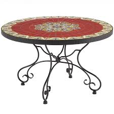rania coffee table red mosaic pier 1 imports meubles
