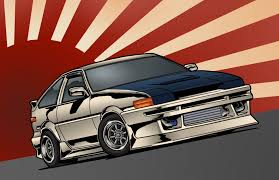 toyota japan toyota corolla ae86 stance jdm front toyota japan art hd wallpaper
