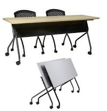 flip top office tables all flip top training table by office star options tables