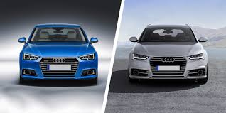 audi a6 headlights audi a4 vs a6 side by side comparison carwow