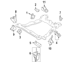 hyundai tiburon oem parts parts com hyundai tiburon engine trans mounting oem parts
