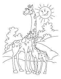 Giraffe Coloring Pages Giraffes Coloring Page 450495 by Giraffe Coloring Pages