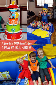 diy details paw patrol party rocket mommy