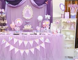 sofia the birthday purple princess birthday party complete disney princess party