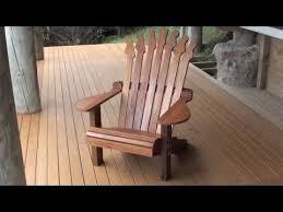 adirondack guitar chair build