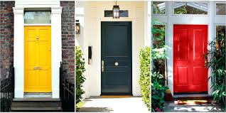 100 painted front doors the 6 absolute best paint colors