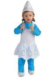 toddler smurfette costume girls halloween smurfette smurf costumes