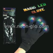 Light Up Gloves Glow In The Dark Gloves Magic Light Up Gloves For Led Party Supply