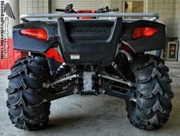 itp mud light tires honda rincon 680 atv itp mud lite tires ss wheels bumper