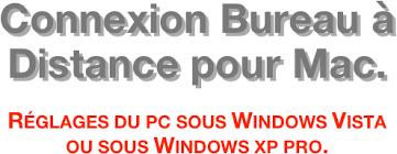 connexion bureau à distance xp connexion bureau à distance pour mac réglages du pc sous windows