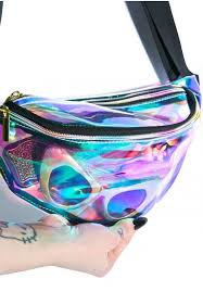holographic bags clear rainbow hologram pack edc nocturnal