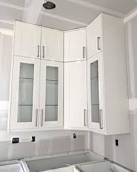 how high should kitchen wall cabinets be installed alamedaca kitchen install progress stacking wall