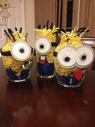 minions centerpieces 40 best creative thinking my magical mind images on
