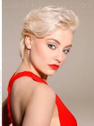 look at short haircuts from the back sultry siren cute swept back blonde look hairstyles pinterest