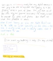 writing paper with picture box apple pencil review the pen addict in my testing i used the notes app and two other apps notability and goodnotes with these i was able to freely write on the screen at practically any