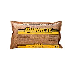 Decorative Stone Home Depot Quikrete 50 Lb All Purpose Gravel 115150 The Home Depot