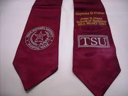 custom graduation sashes graduation stole or sash embroidery in houston instant