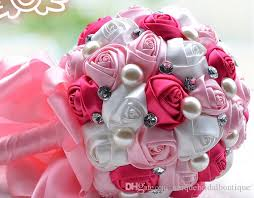 wedding bouquet 2017 for brides beautiful handmade roses holding