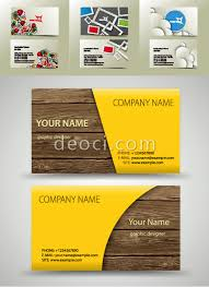 free 4 vector business card cover background design template