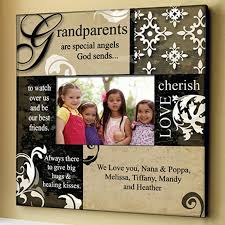 grandparents frame grandparents gift and craft