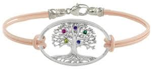 mothers bracelets with birthstones mothers bracelet family tree sterling silver birthstone bracelets