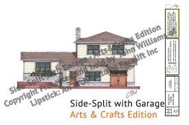 side split with garage u2013 jw lipstick designs
