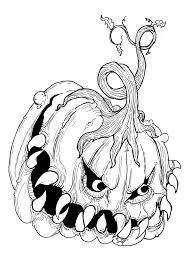 jack o lantern drawings free download