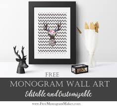68 Best Wall Silhouettes Images by Silhouette Monogram Printables Customize Online And Print At Home