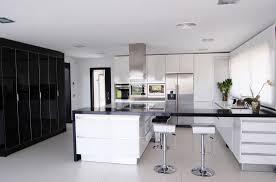 white kitchen ideas black and white kitchen modern design normabudden com