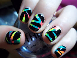 cool easy short nail art designs easy nail art