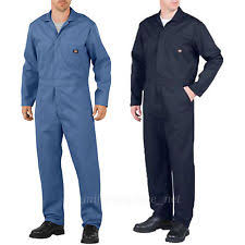blue mechanic jumpsuit dickies coveralls sleeve ebay