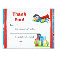 superhero thank you cards greeting u0026 photo cards zazzle