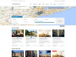 18 best wordpress property management themes for 2017 siteturner