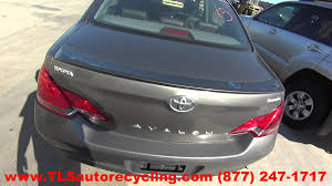 parting out 2005 toyota avalon stock 5180gy tls auto recycling